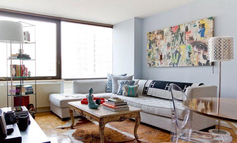 Оформление гостиной комнаты для маленькой квартиры стиль хай-тек