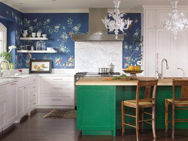 Лучшие идеи- как обновить кухню своими руками изумрудно зеленый остров