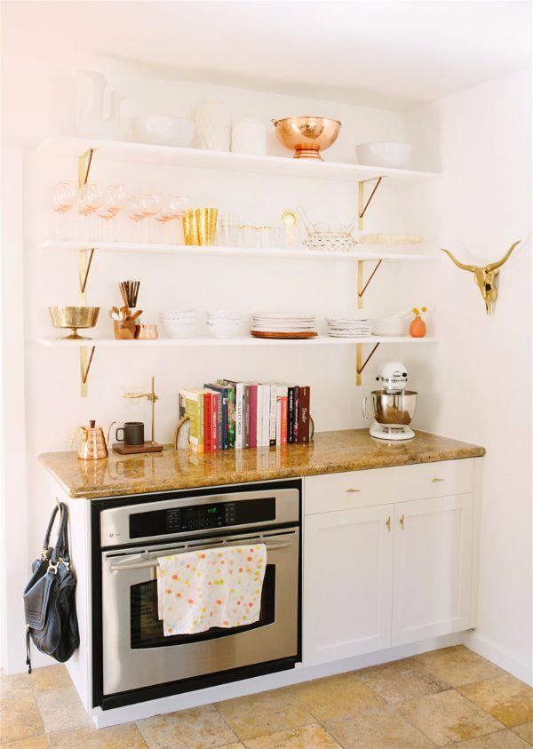 Лучшие идеи- как обновить кухню своими руками открытые полки