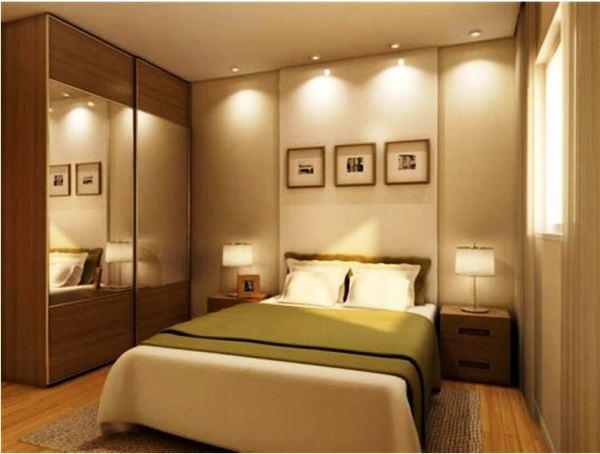 дизайн маленькой спальни фото
