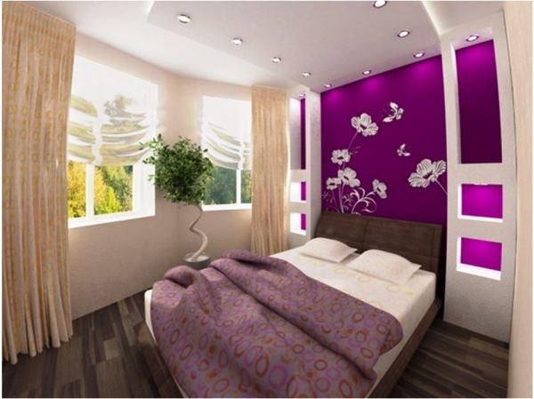 оформление маленькой спальни в квартире фото