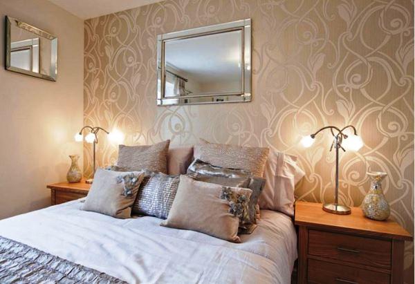 уютная маленькая спальня дизайн фото