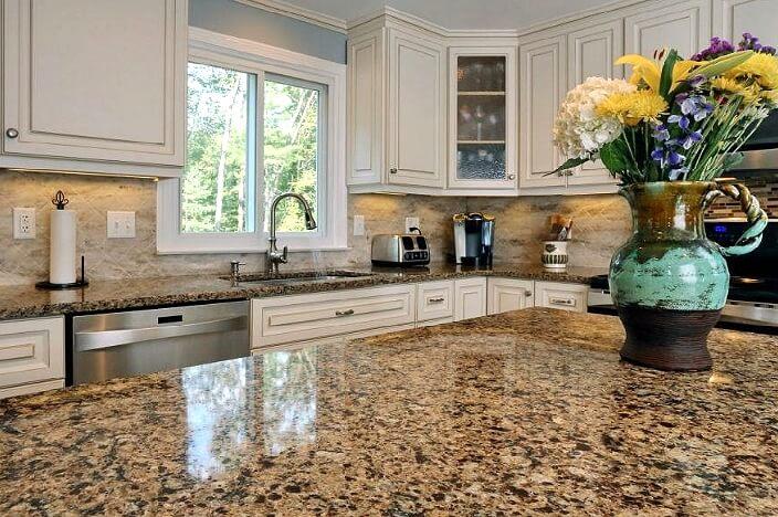 Кухонная плита из искусственного камня