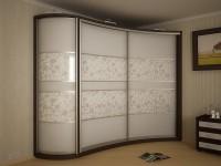 шкаф купе с радиусными дверцами
