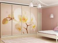 Дизайн спальни со шкафом купе фото
