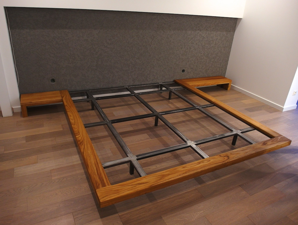 Парящая кровать, плюсы и минусы, чертежи и размеры. Инструкция как сделать подвесную кровать своими руками.