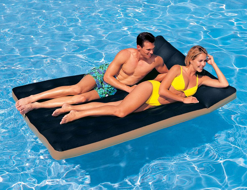 Пляжный надувной матрас для воды