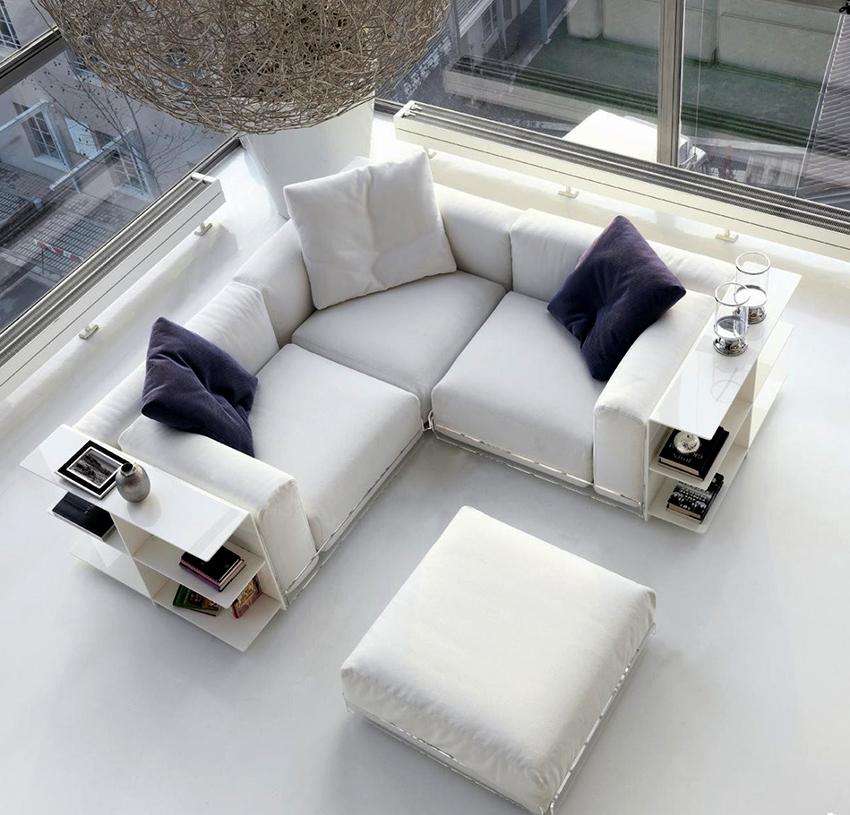 Модульный диван маленький