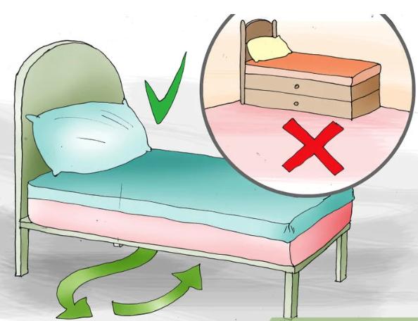 Как правильно поставить кровать по Фен-шуй