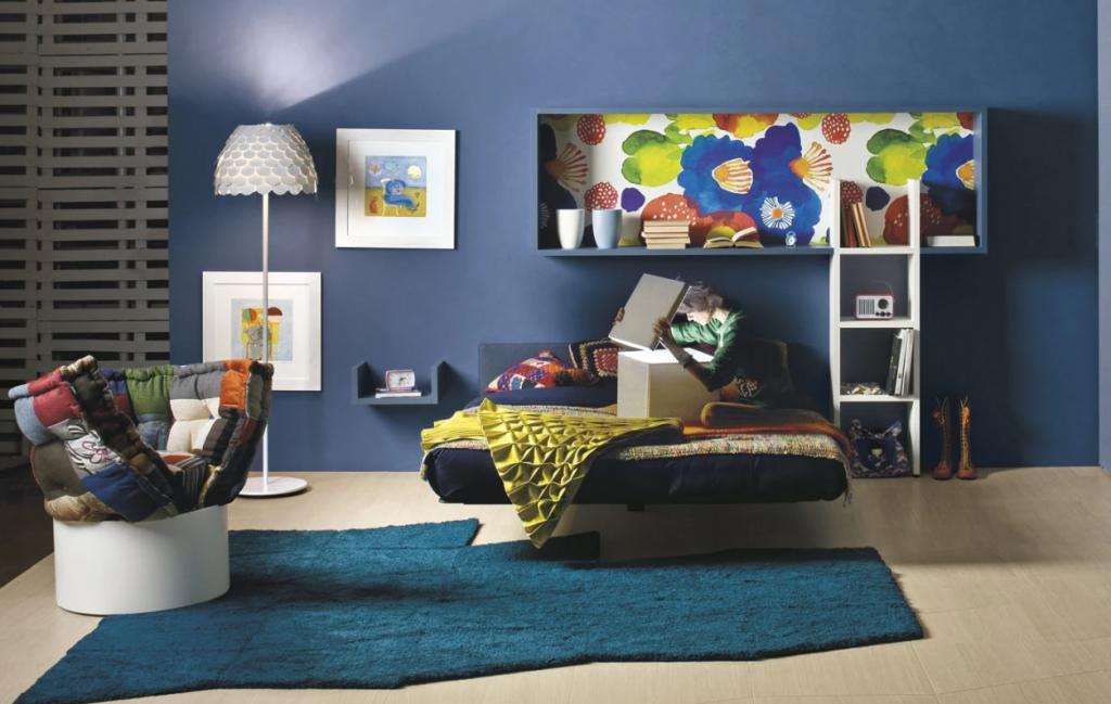 Парящей кровати для подростков