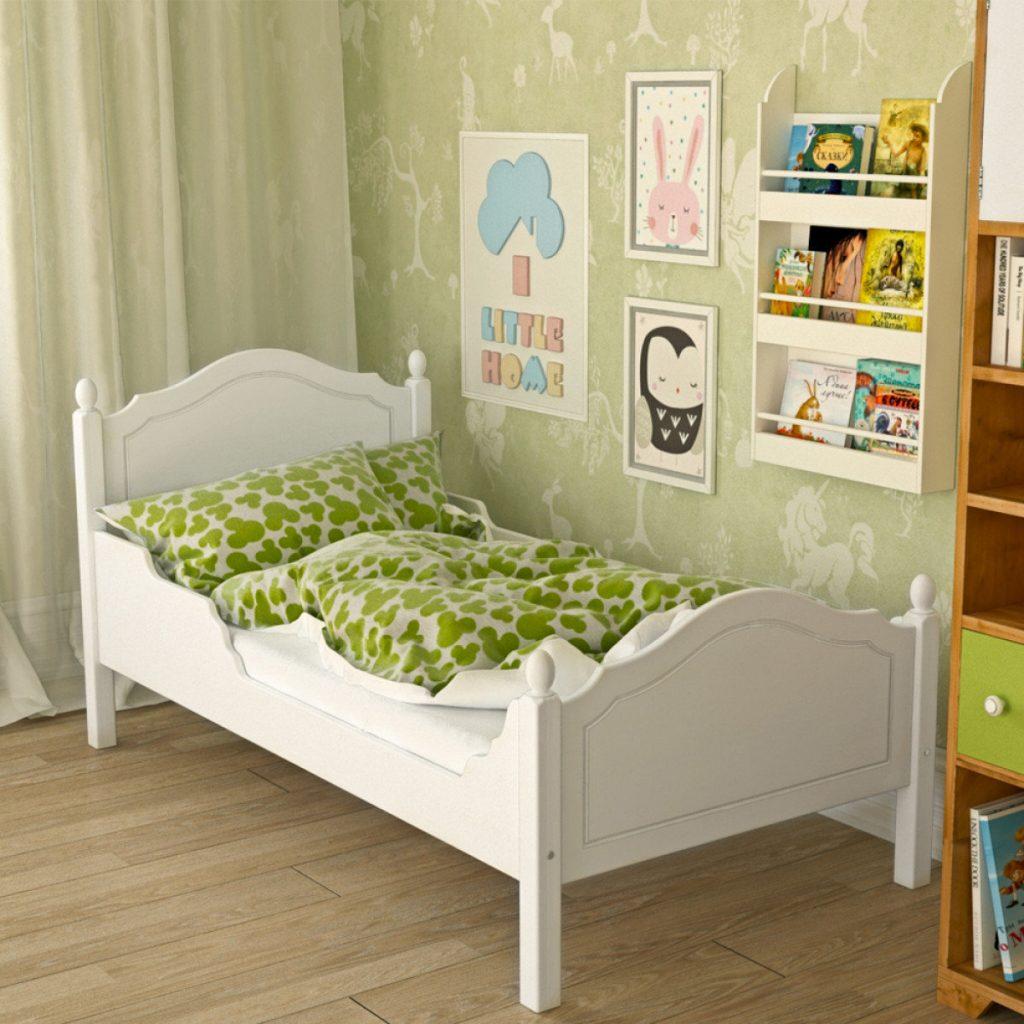 Размер кровати 160 на 70 см.