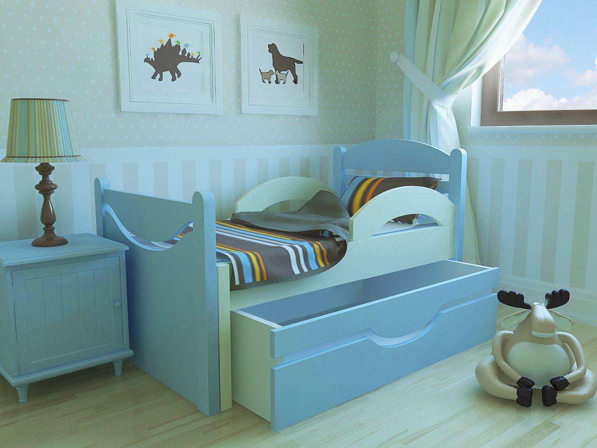 Размеры детской кровати с бортиками