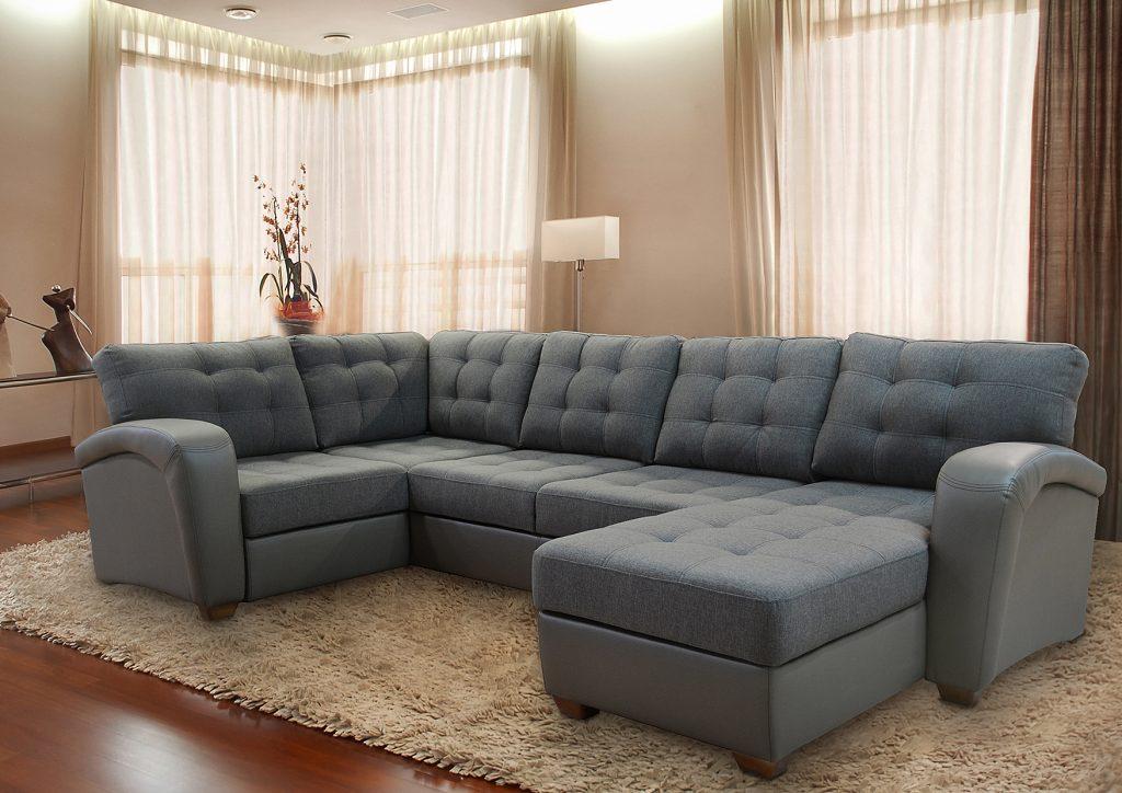 Модульный диван угловой шинил
