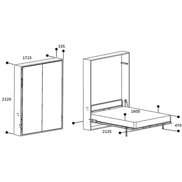 Кровать трансформер схема