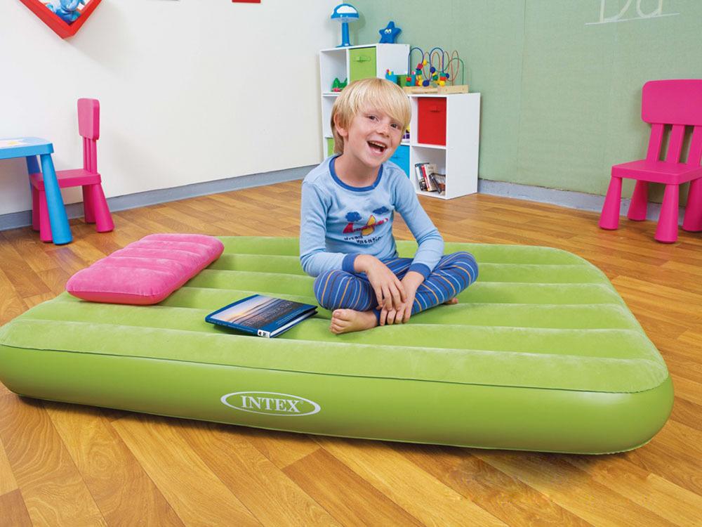 Детский надувной матрас для детей от 3 лет