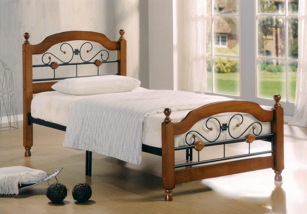 Размеры односпальной кровати для взрослых
