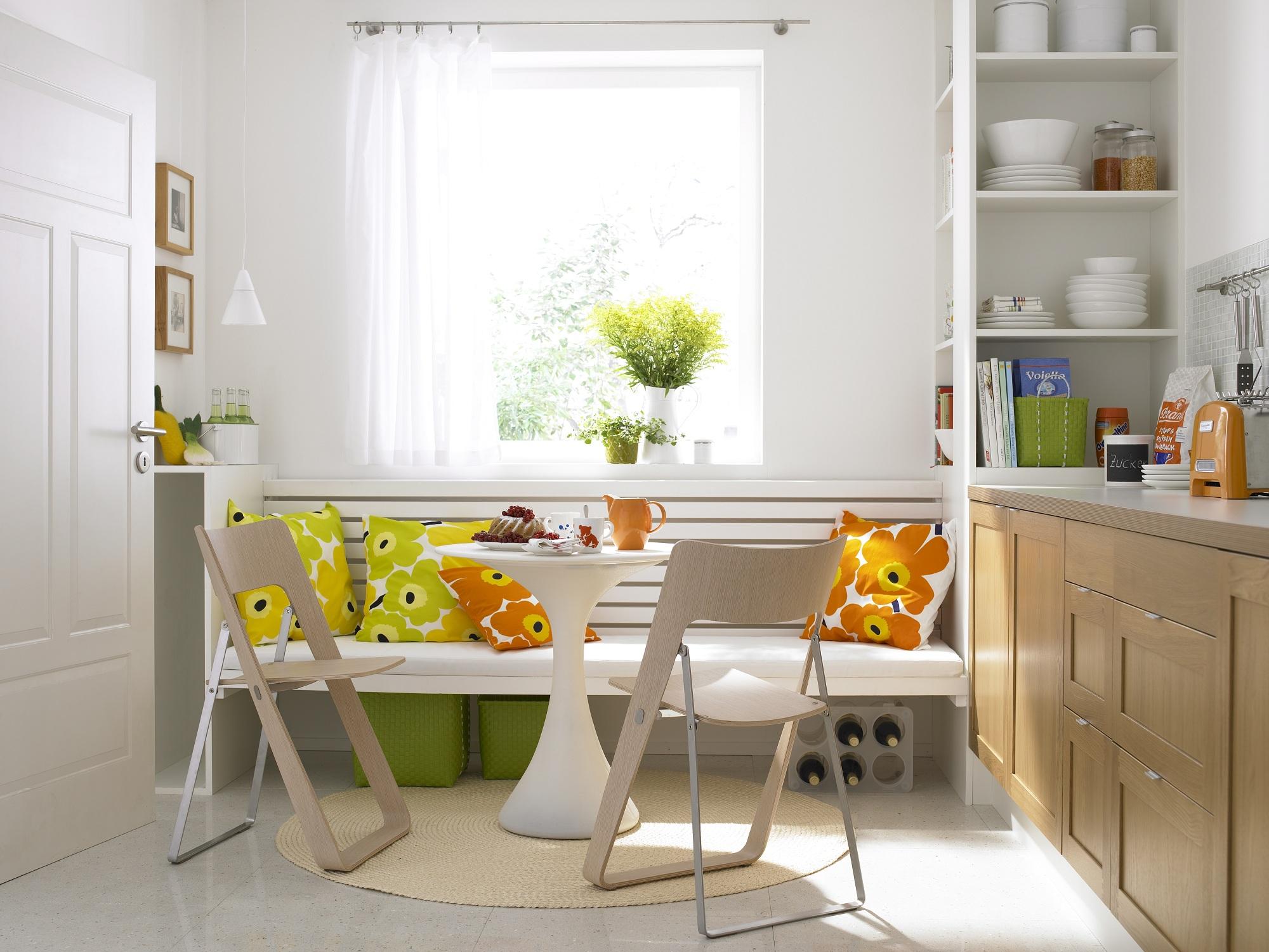 Стол круглый для маленькой кухни
