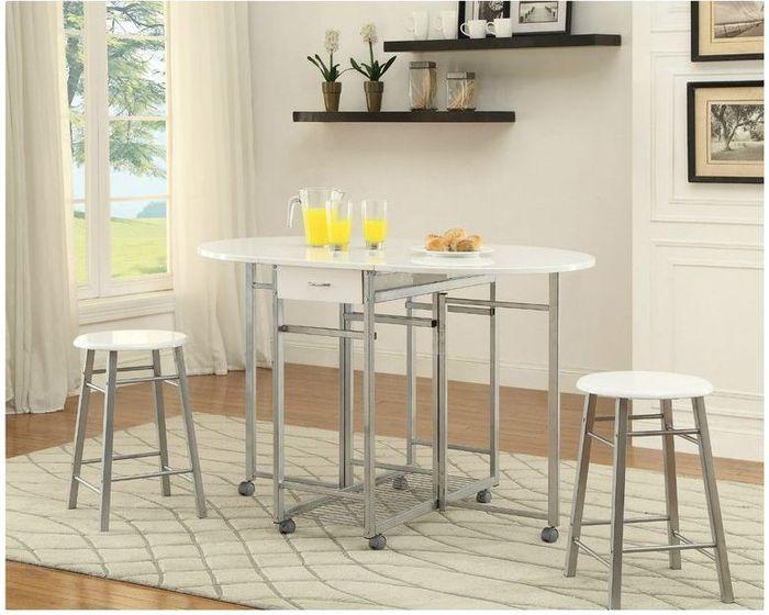 Стол овальный для маленькой кухни