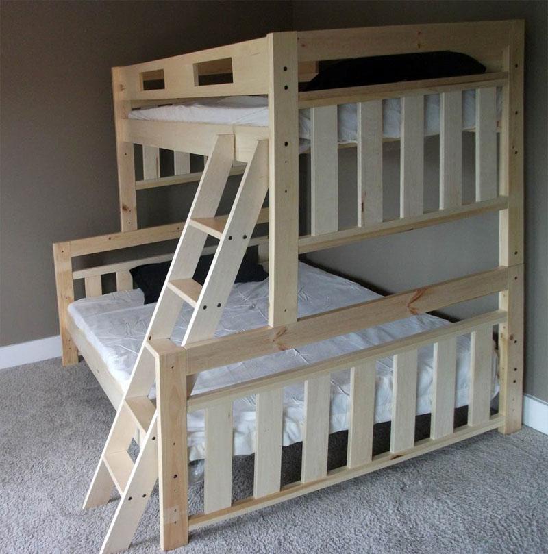 Фото Двухъярусная кровать
