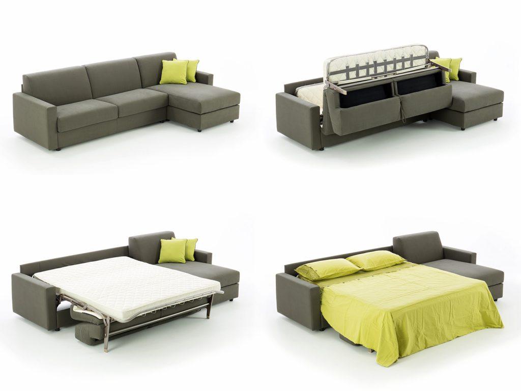 Угловой диван с ортопедическим матрасом механизм раскладки