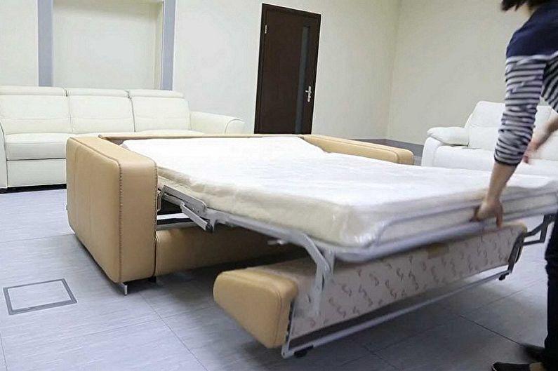 Выбираем диван с ортопедическим матрасом