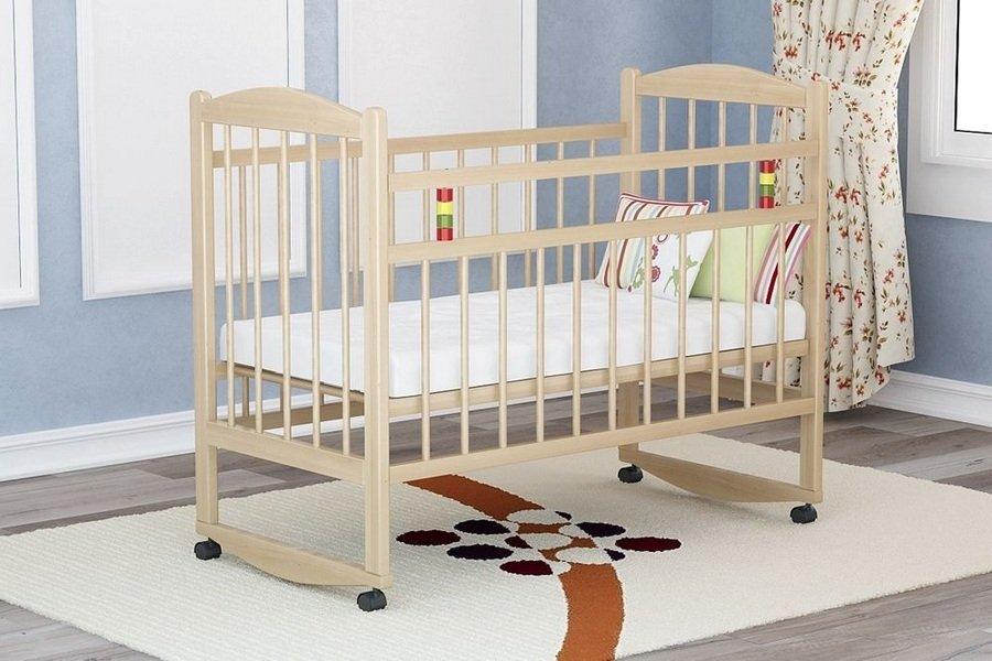 Стандартные размеры детской кроватки для новорожденных