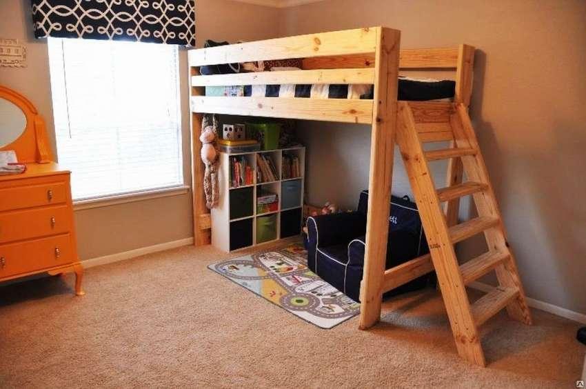Фото Кровать чердак для детей