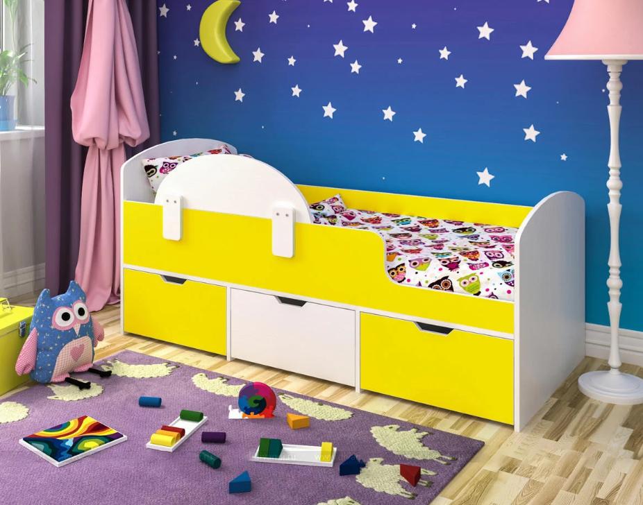 Фото Бортик для детской кровати от падении