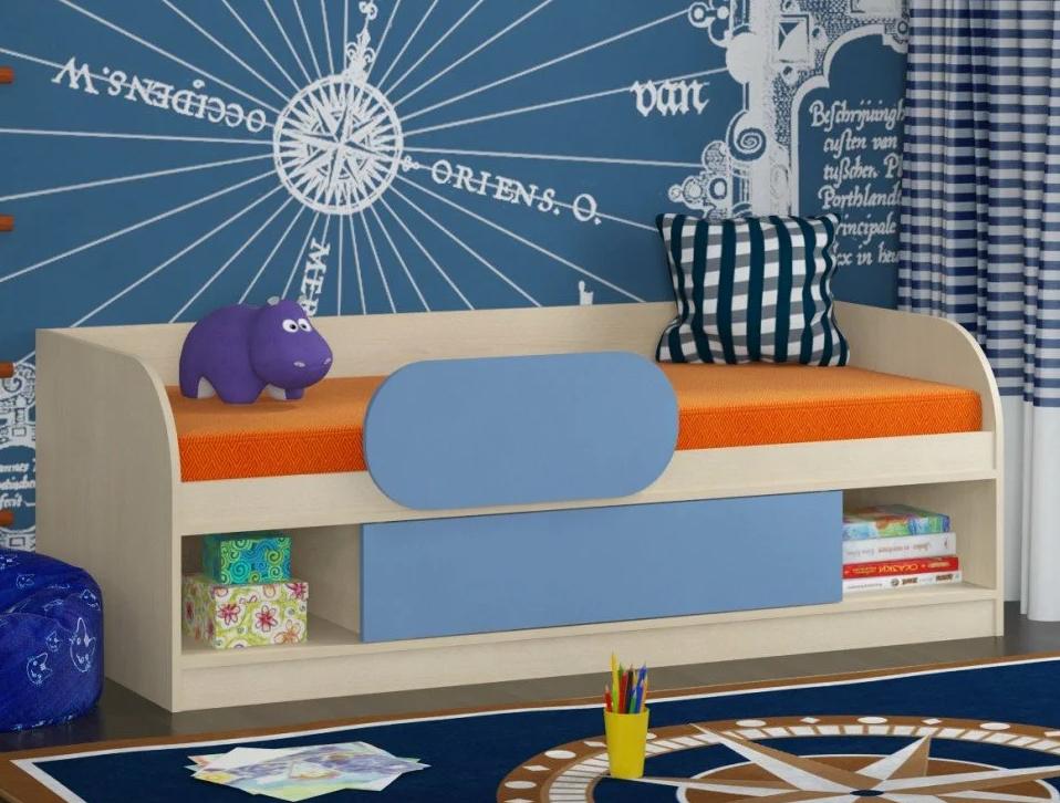 Варианты детских кроватей с бортиком от падения
