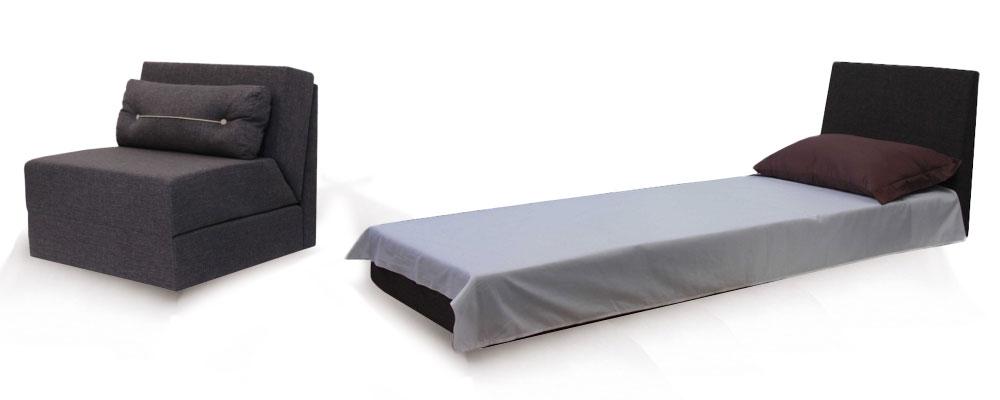 Кресло кровать без подлокотников