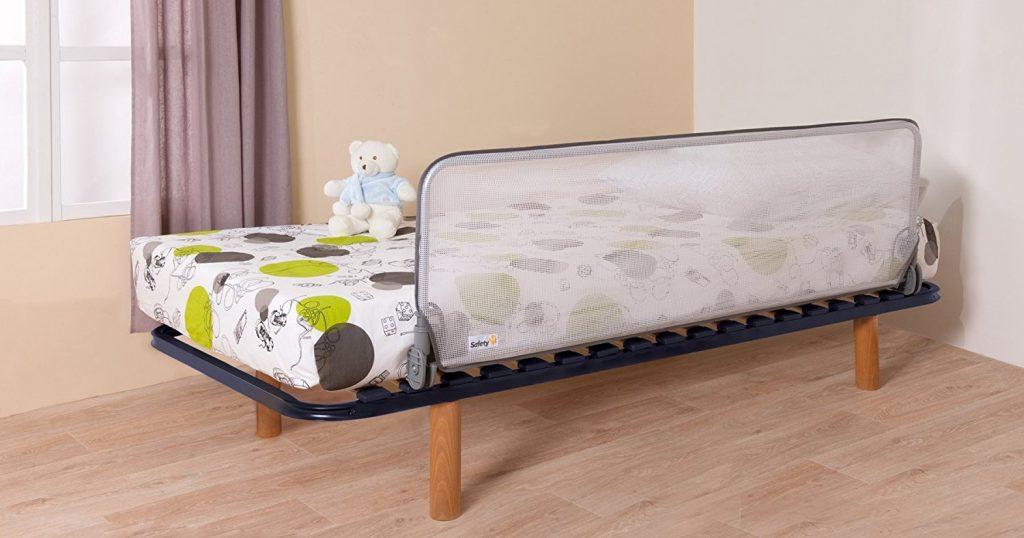 Фото Металлический бортик для кровати от падении с подъемным механизмом