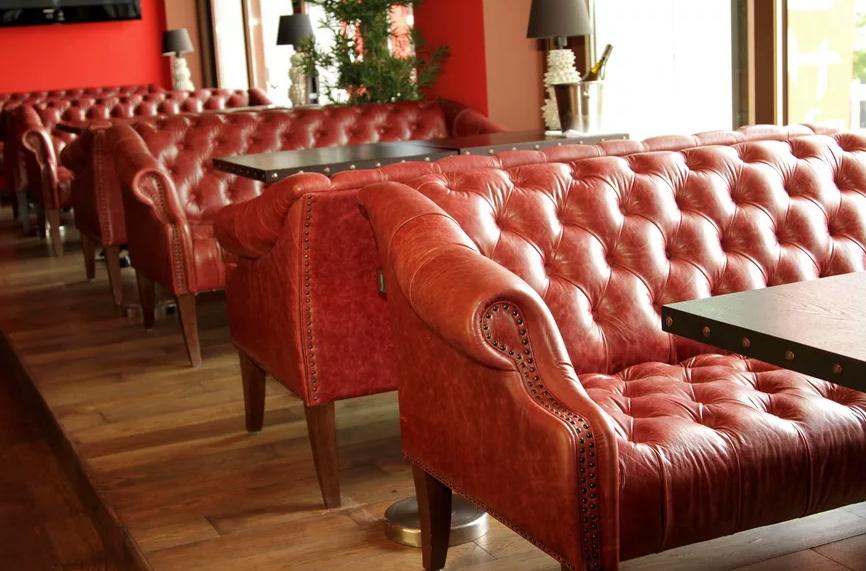 Как выбрать диван в ресторан