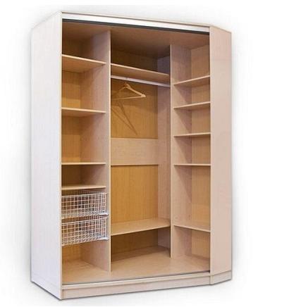 Как выбрать двухстворчатый шкаф для одежды